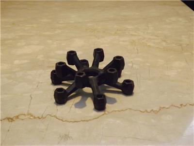 Vintage Dansk Cast Iron Spider Candle Holder Jhq
