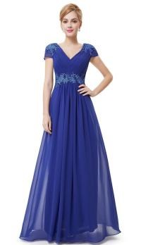 BNWT BREE Cobalt Blue Full Length Prom Evening Cruise
