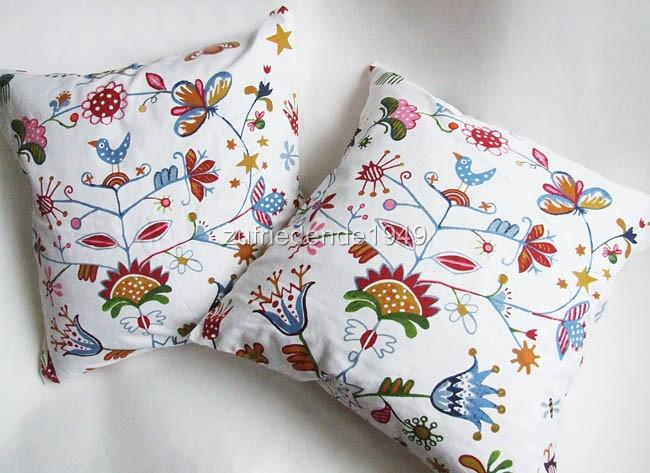 Meterware Ikea Alfhild Fagel Landhausstil Baumwolle Cotton Fabric Ebay - Stoffe Ikea Design