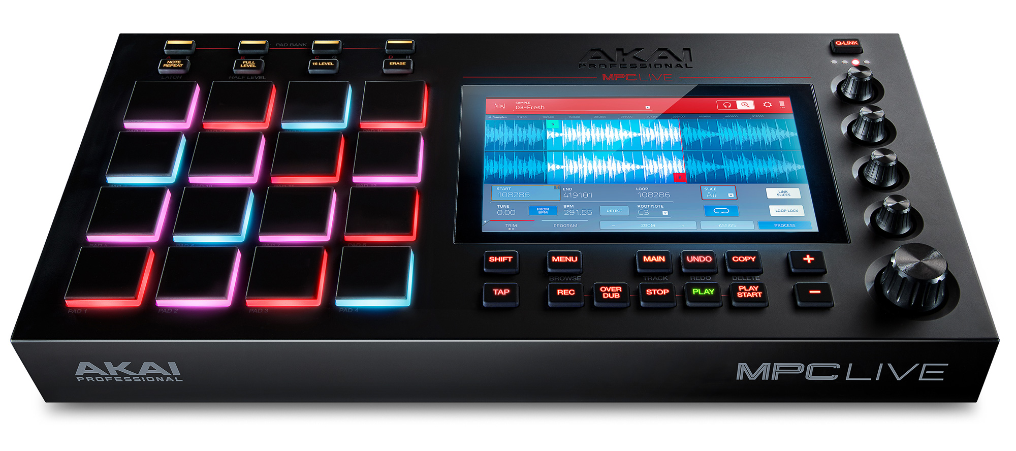 Akai Mpc A Well Conceived Efficient And Inspiring Device Reviews