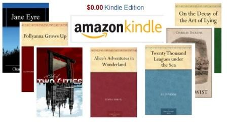 15 most reviewed classics – Free kindle e-books on the amazon