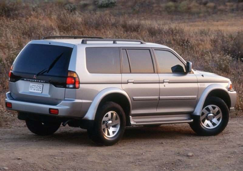 2001 Mitsubishi Montero Sport Pictures including Interior and