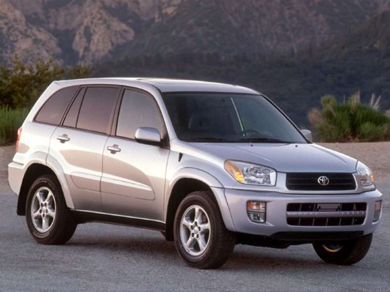 2002 Toyota RAV4 Pictures including Interior and Exterior Images