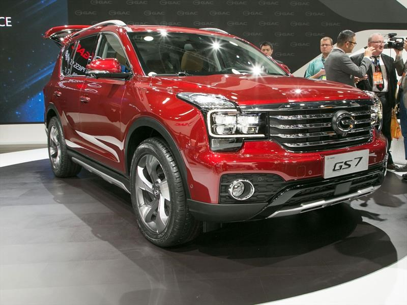Salon Del Automovil 2017 Gac Motors, La Marca De Autos China En Estados Unidos