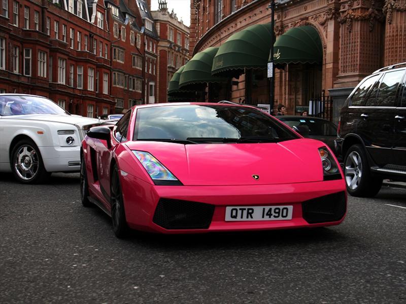 Audi Car Logo Wallpapers Pink Lamborghini Gallardo Superleggera El Toque Femenino