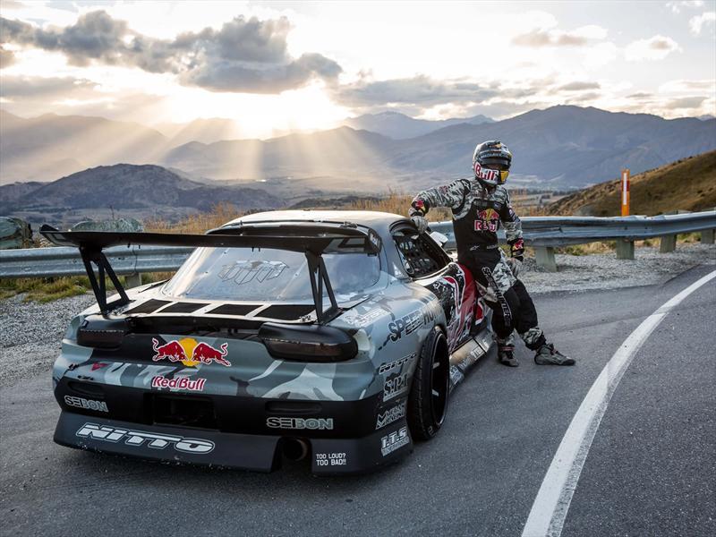 Hoonigan Cars Wallpaper Video Mazda Rx 7 De 750 Hp Drifteando En El Crown Range