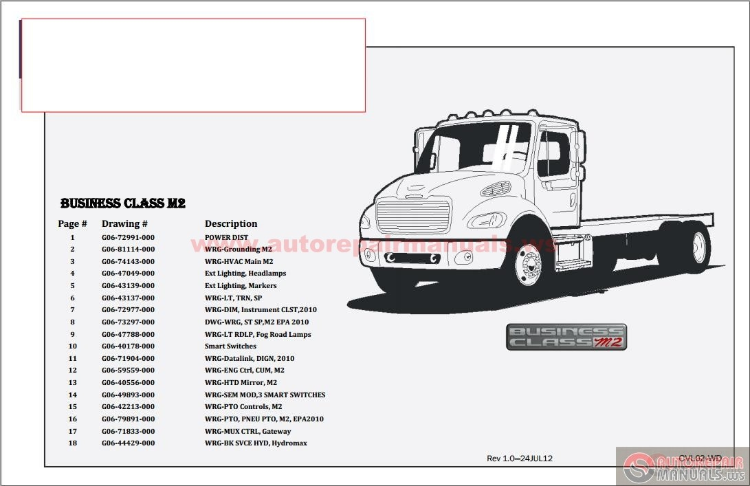 ws freightliner bussiness class m2 electrical schematic