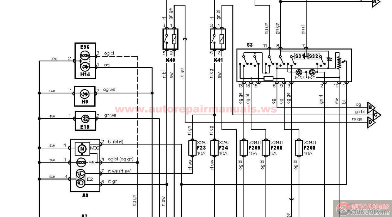 ford focus 2002 haynes wiring diagram