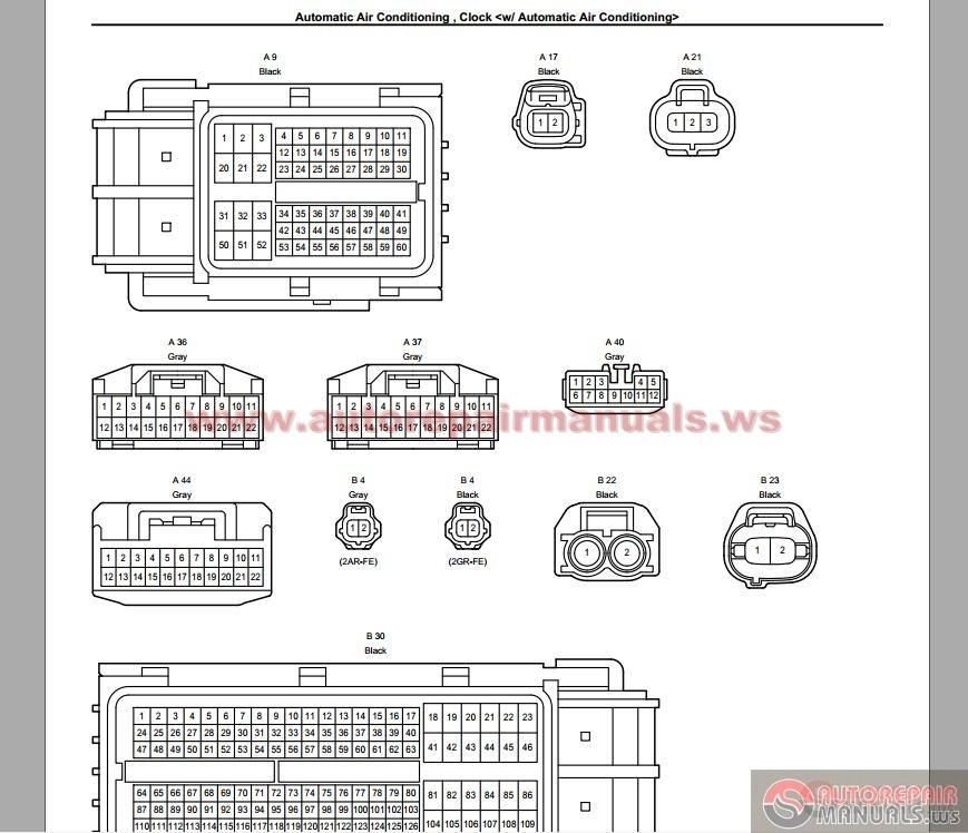 Toyota Rav4 Wiring Diagrams Control Cables  Wiring Diagram