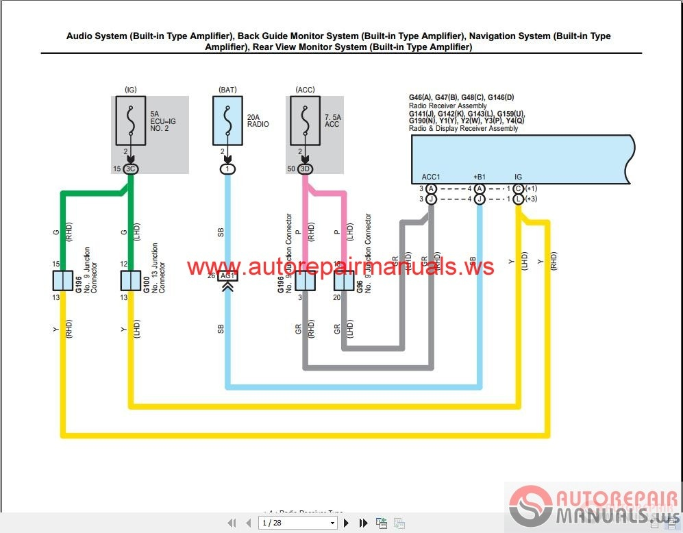 Toyota Hiace Wiring Harness Diagram Wiring Diagram