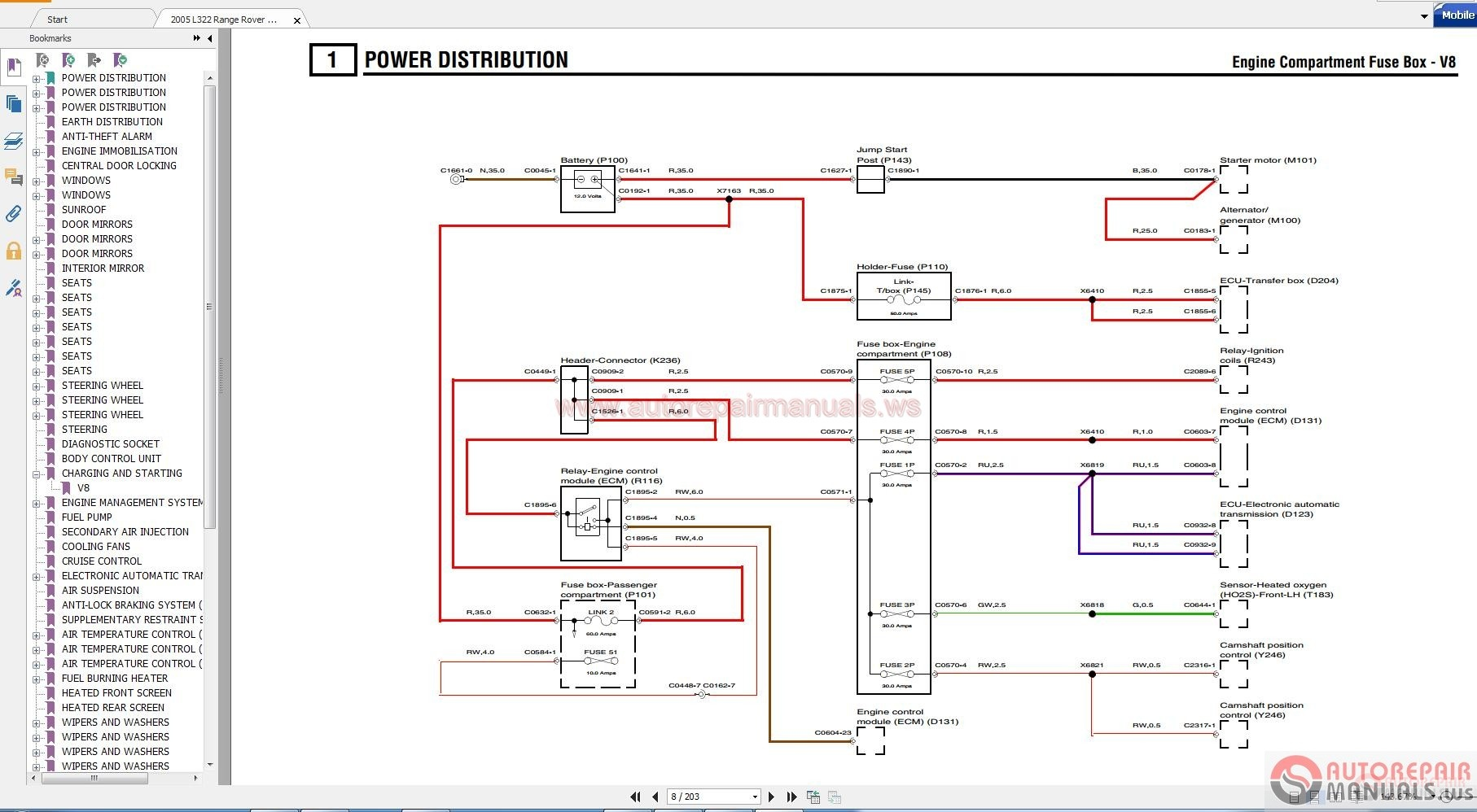 wiring diagram 1995 range rover bookmark about wiring diagram 2005 Range Rover Engine Diagram