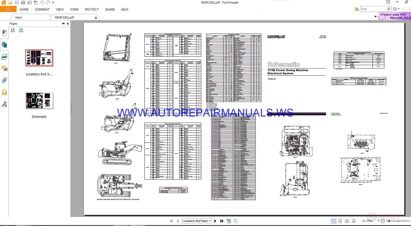 caterpillar 312c wiring diagrams