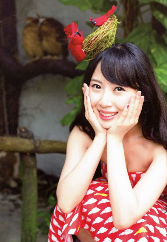 SKE48の貧乳アイドル高柳明音のファースト写真集とかwwww