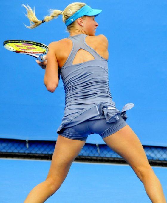 女子テニスってお尻見放題のドスケベ競技なんだな!wwwこりゃぐうしこだわwww(画像あり)