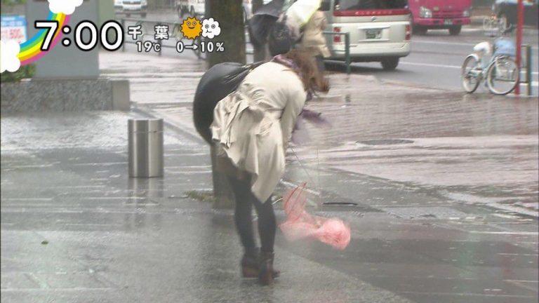 台風やゲリラ豪雨がエロいテレビの放送事故ぐぅエロwwww