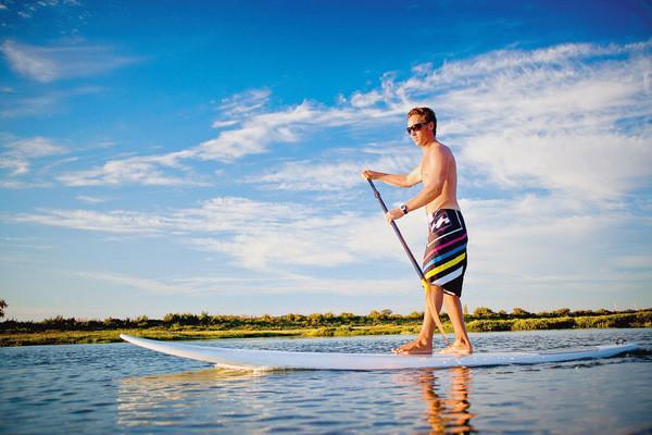Le Stand Up Paddle Comme Si Lon Marchait Sur Leau