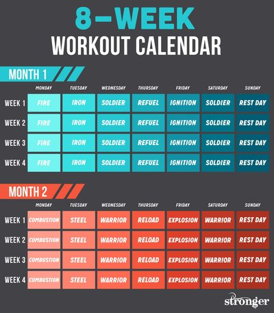 10 Free Workouts to Get You Fitter and Stronger LIVESTRONGCOM