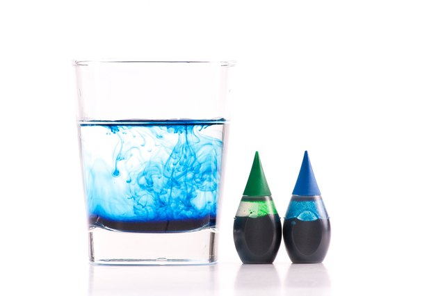 Brilliant blue food coloring can pass the blood-brain barrier.