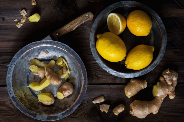 Try a tea with fresh ginger, honey, lemon and cayenne.