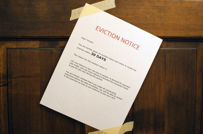 How to Evict a Family Member From a House LIVESTRONGCOM - how to make a eviction notice