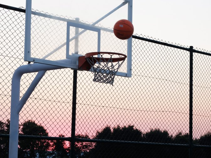 What Is the Square Behind  Above the Rim on a Basketball Backboard