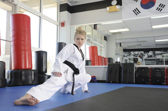 How to Get a Body of a Professional Taekwondo Fighter LIVESTRONGCOM