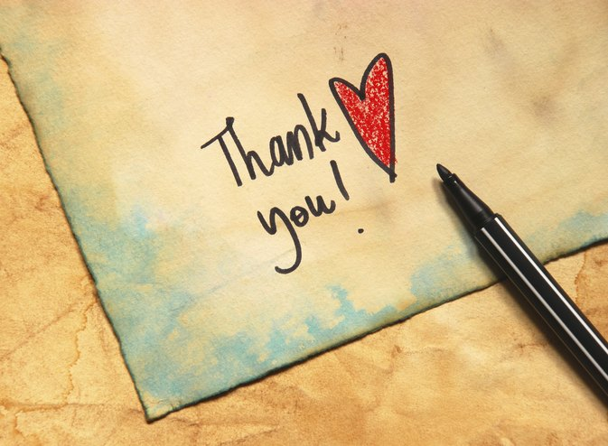 How to Write a Thank You Note to Family LIVESTRONGCOM - Thank You Note