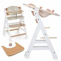 Hauck Hochstuhl Beta Plus Holz Newborn Set