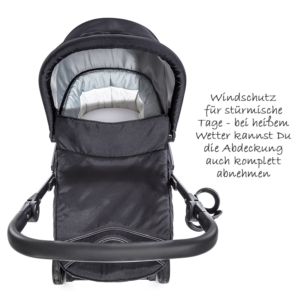 Hauck Autositz Isofix Hauck 4in1 Kinderwagen Buggy Set Rapid 4s Plus Mit