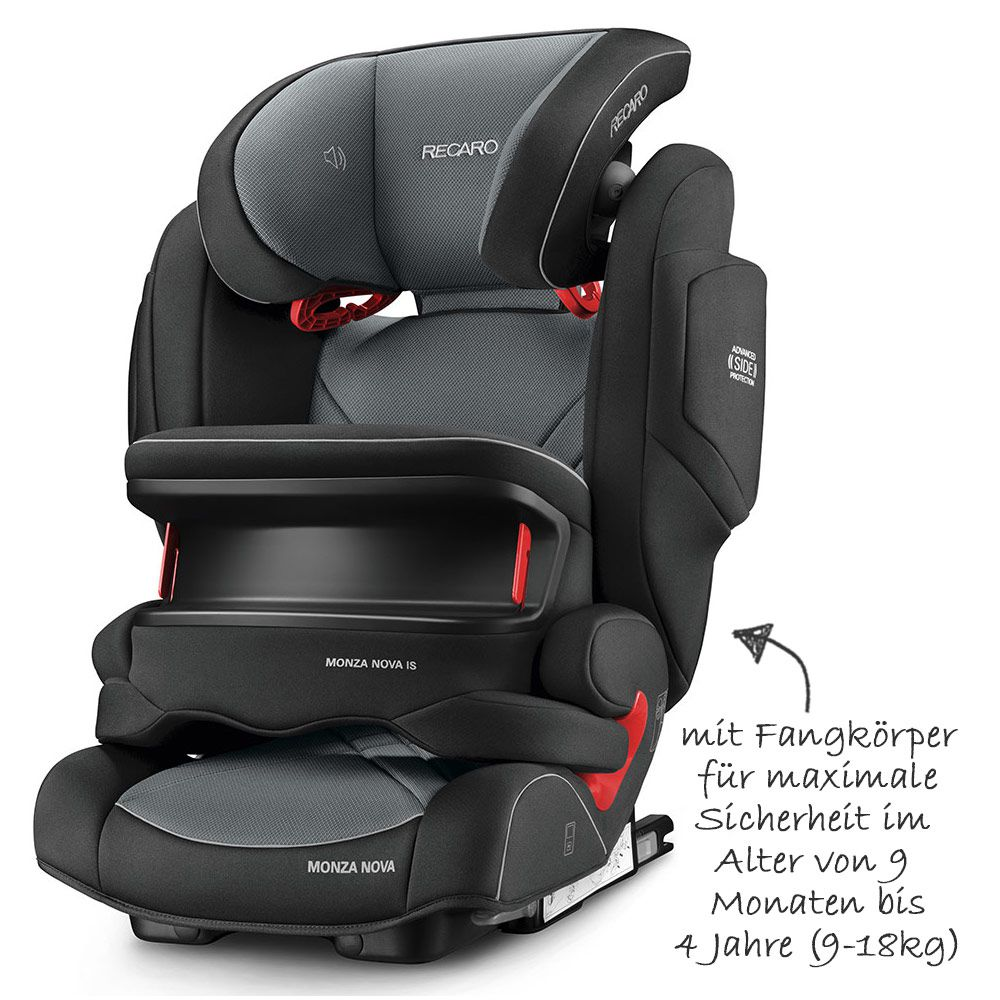 Joie Kindersitz Wie Lange Fangkörper Recaro Child Seat Monza Nova Is Seatfix Carbon Black Collection 2020