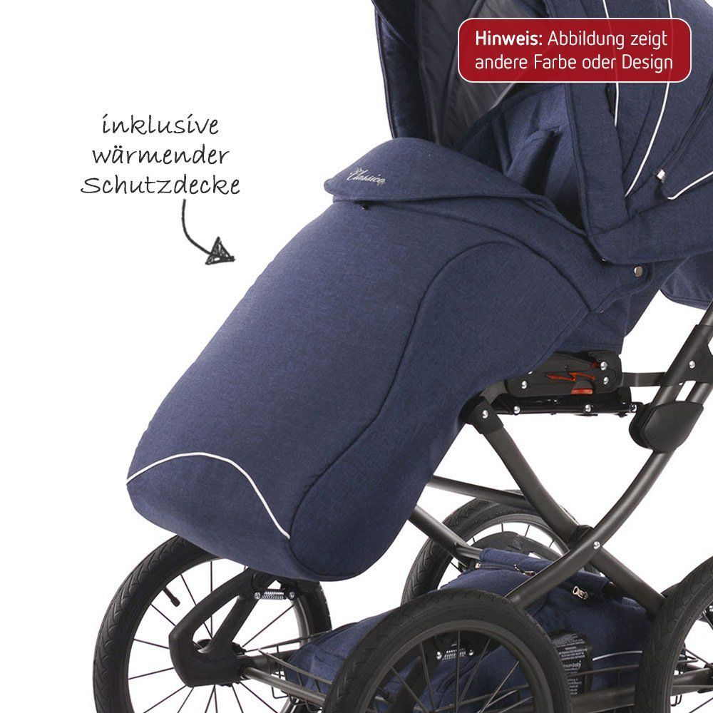 Knorr-baby Kombikinderwagen Classico Knorr Baby Classico Emotion Nature Combination Pushchair