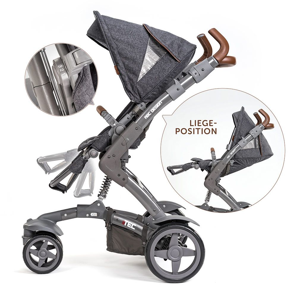 Abc Design Buggy Board Anleitung Abc Design Combi Pushchair 3 Tec Incl Carrycot Style Edition Street