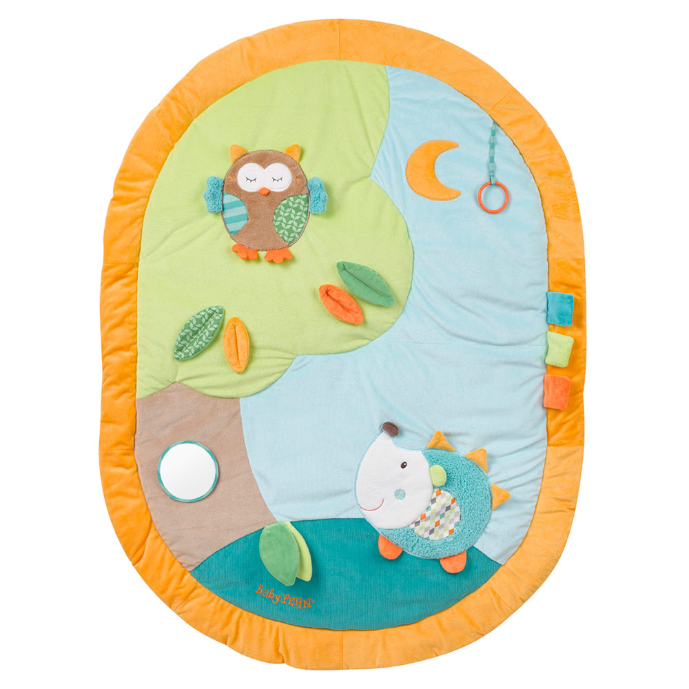3d Activity Decke Baby Fehn 3d Activity Blanket Sleeping Forest