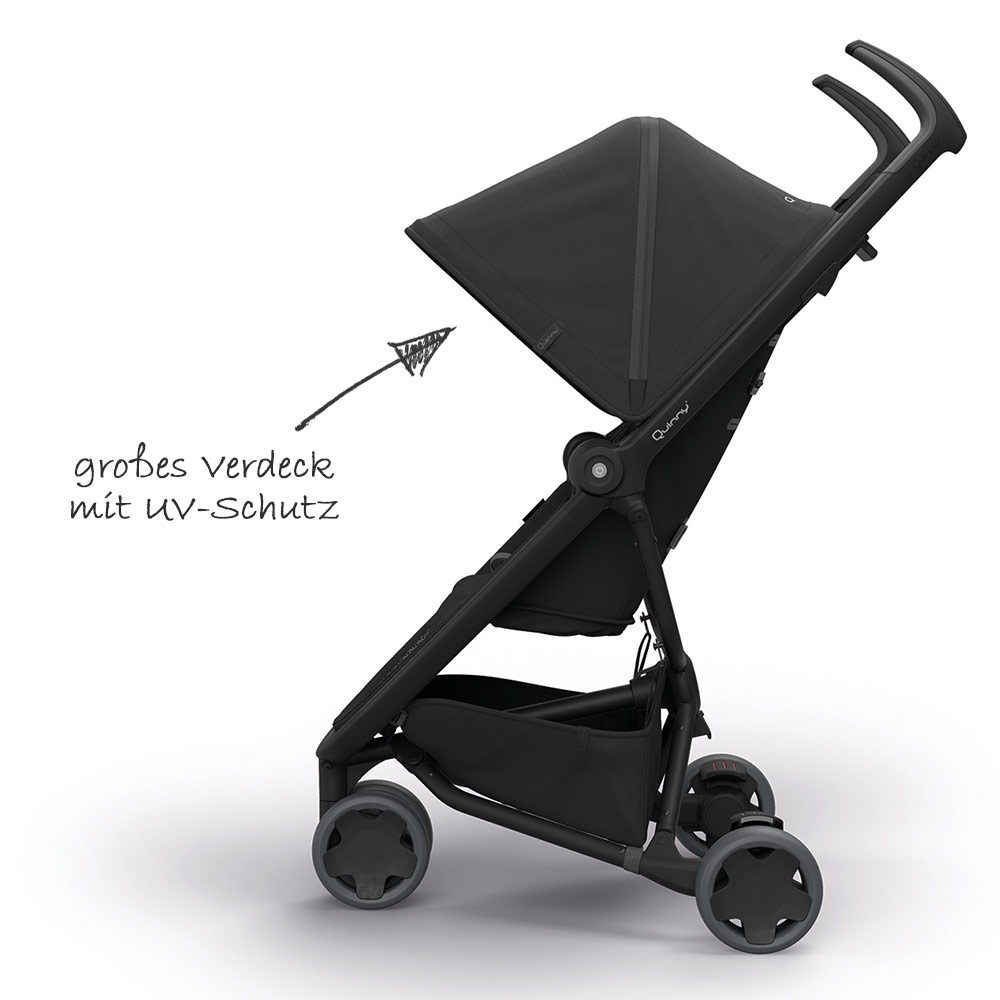 Quinny Zapp Zubehör Quinny Buggy Zapp Flex Black On Black Collection 2019