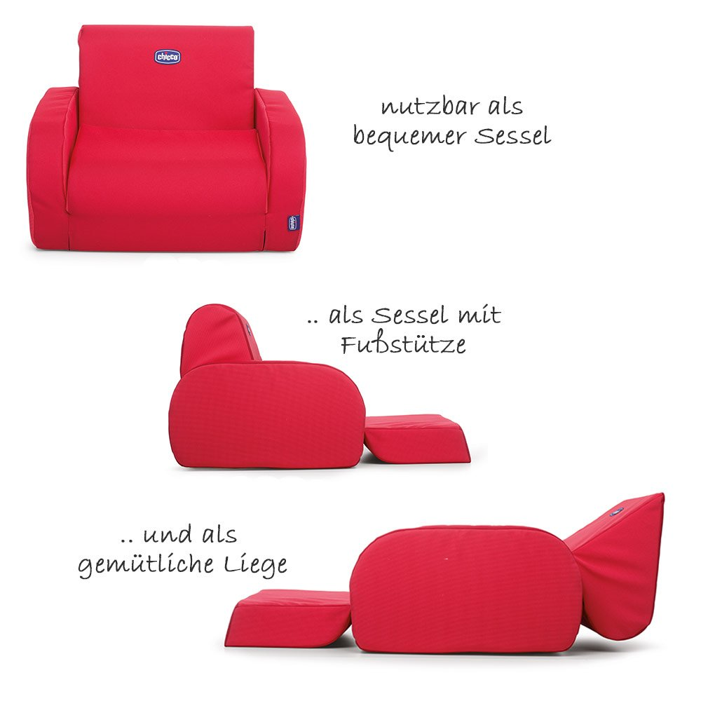 Chicco Sessel Twist Chicco Kindersessel Twist Red Kollektion 2018