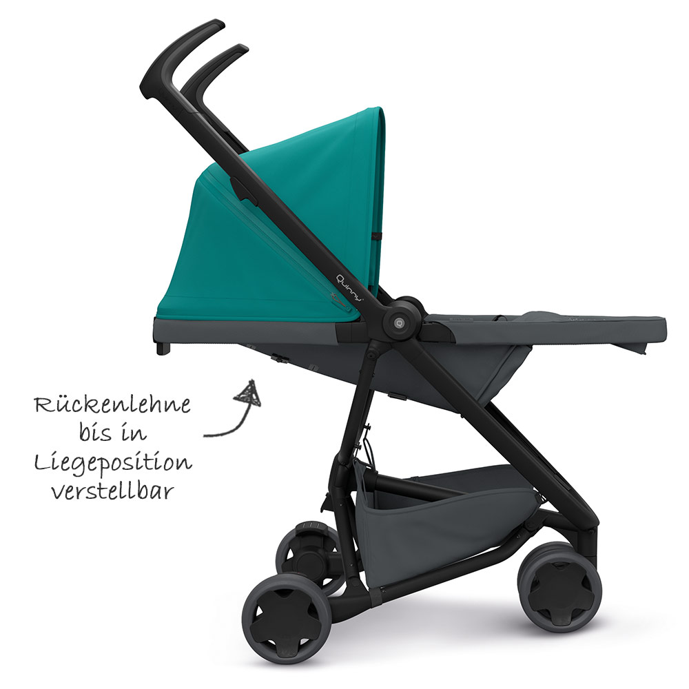 Quinny Zapp Zubehör Quinny Buggy Zapp Flex Green On Graphite Kollektion 2019