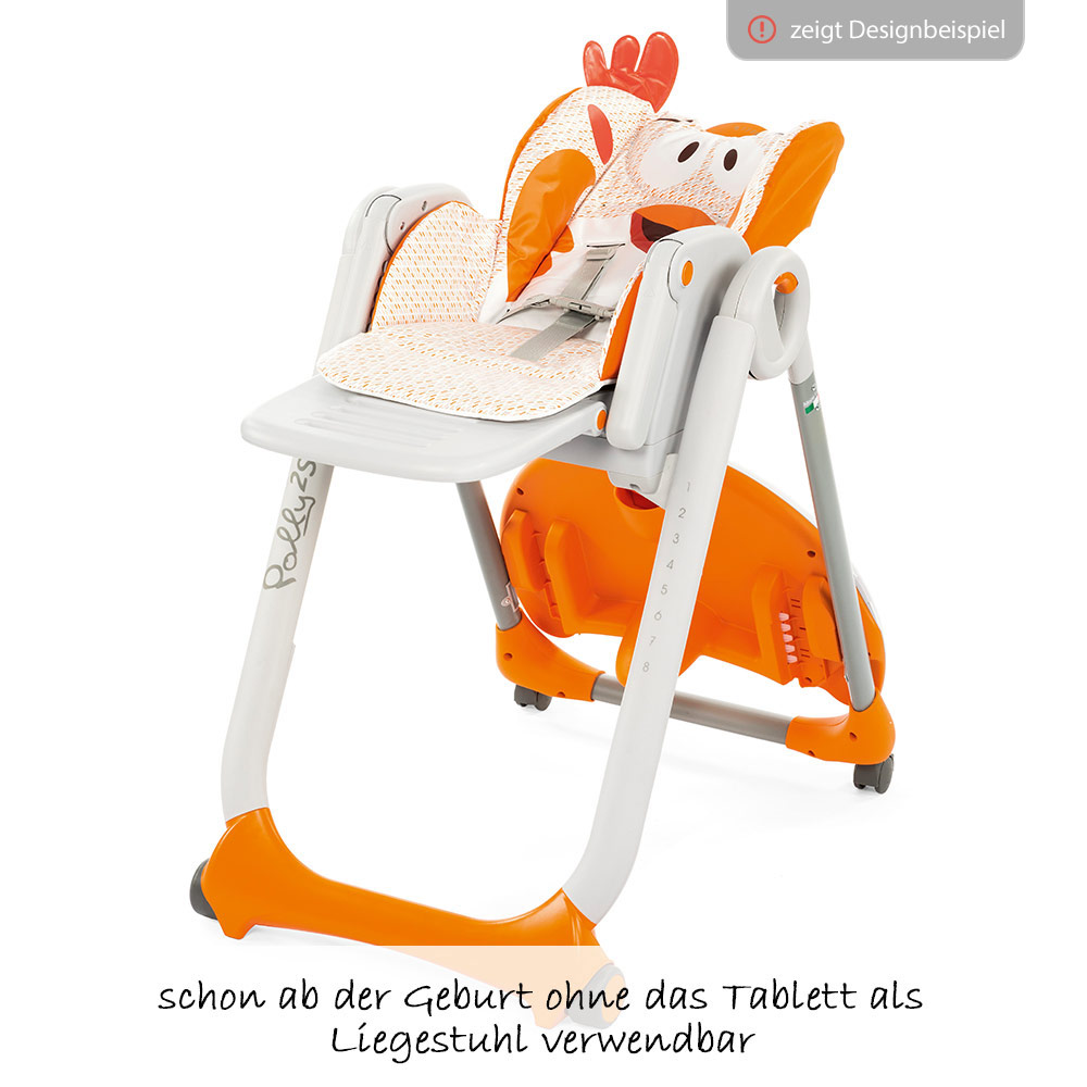 Deckchair Mit Rollen Chicco High Chair Polly 2 Start With 4 Wheels Elephant Collection 2018
