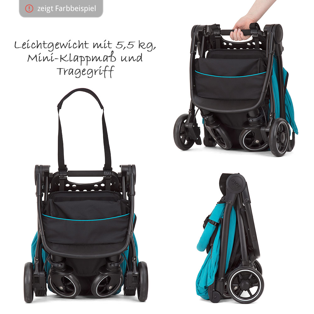 Ebay Kinderwagen Joie Joie Buggy Pact Lite Incl Carrying Bag And Rain Cover Gray Flannel Collection 2019