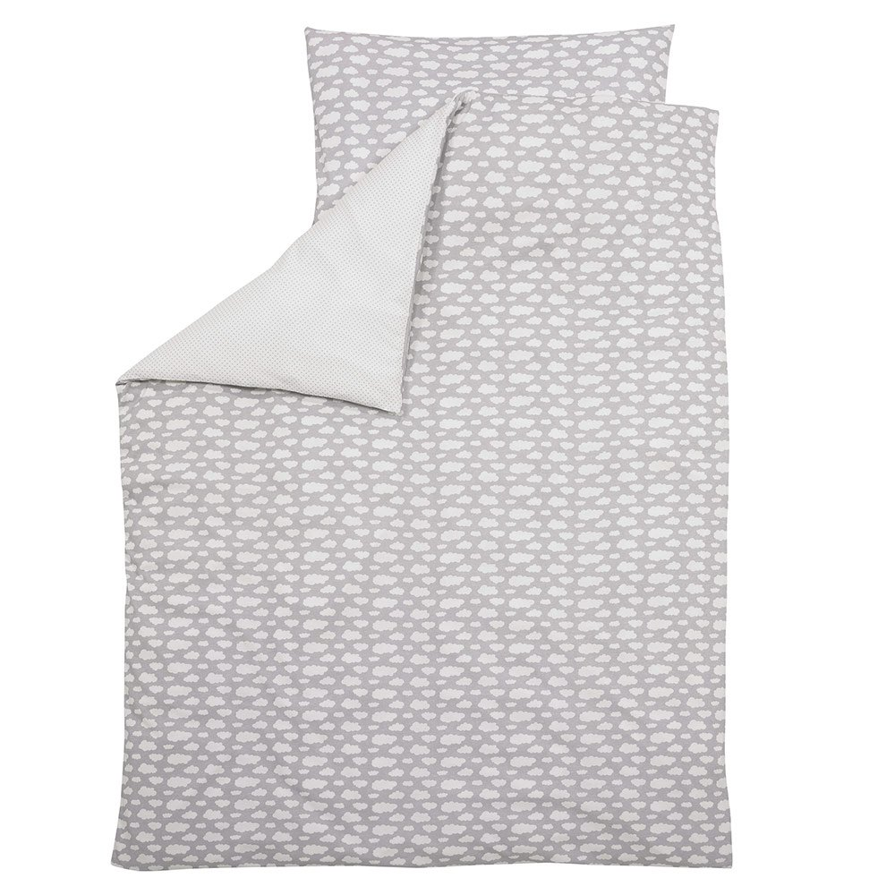 Alvi Bettwäsche 100x135 Alvi Bed Linen 100 X 135 Cm Cloud Silver