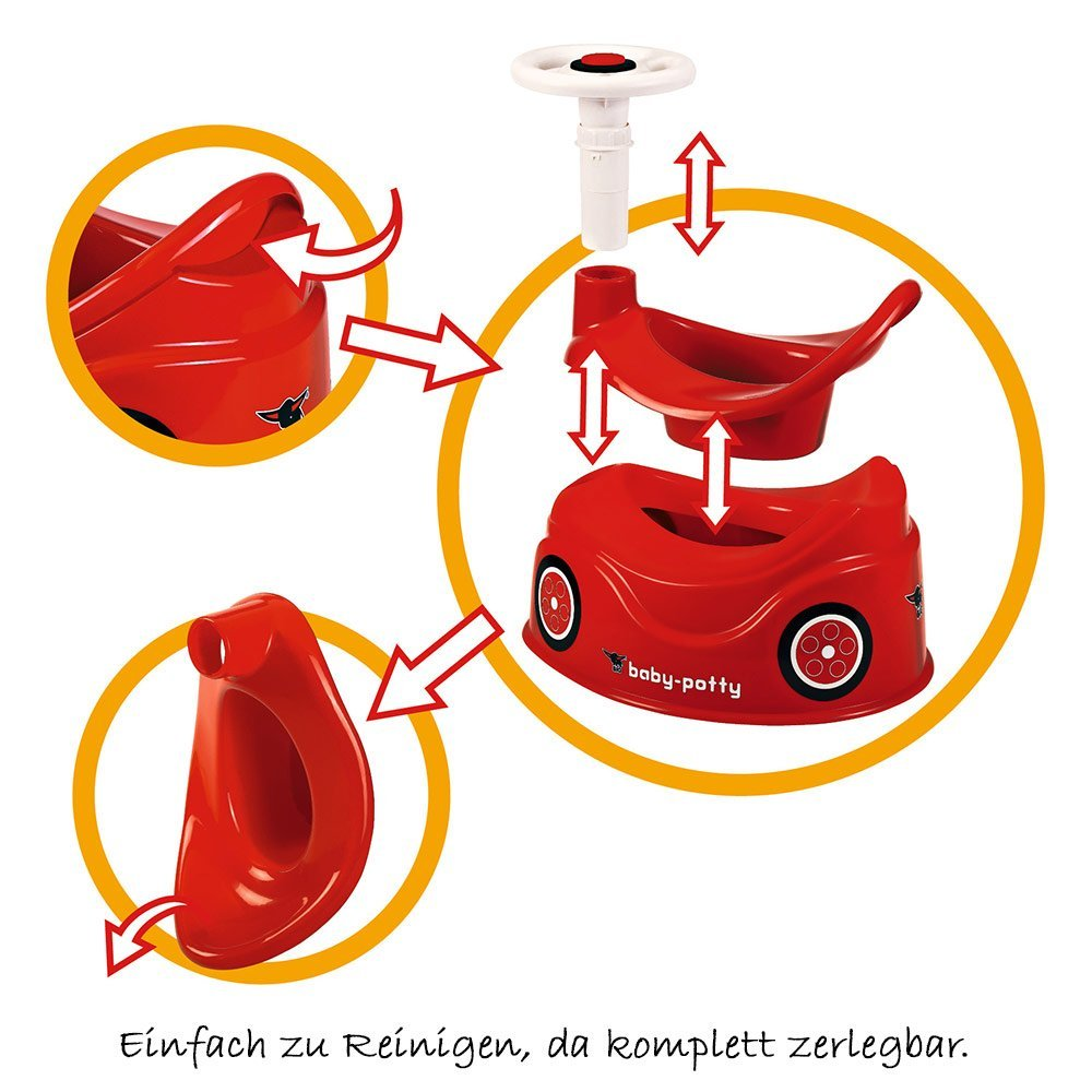 Baby Töpfchen Big Potty Baby Potty Red