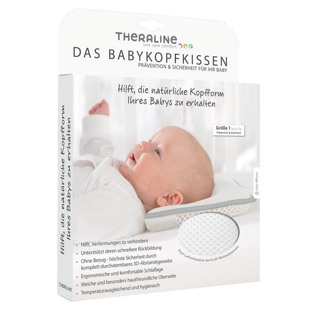 Theraline - Baby pillow against head deformation - Babyartikel.de