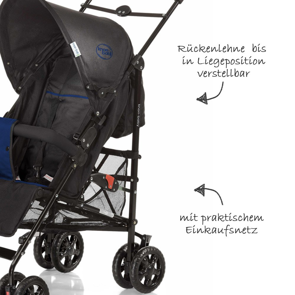 Knorr Baby Buggy Styler Test Knorr Baby Buggy Commo Sport Blue Collection 2019