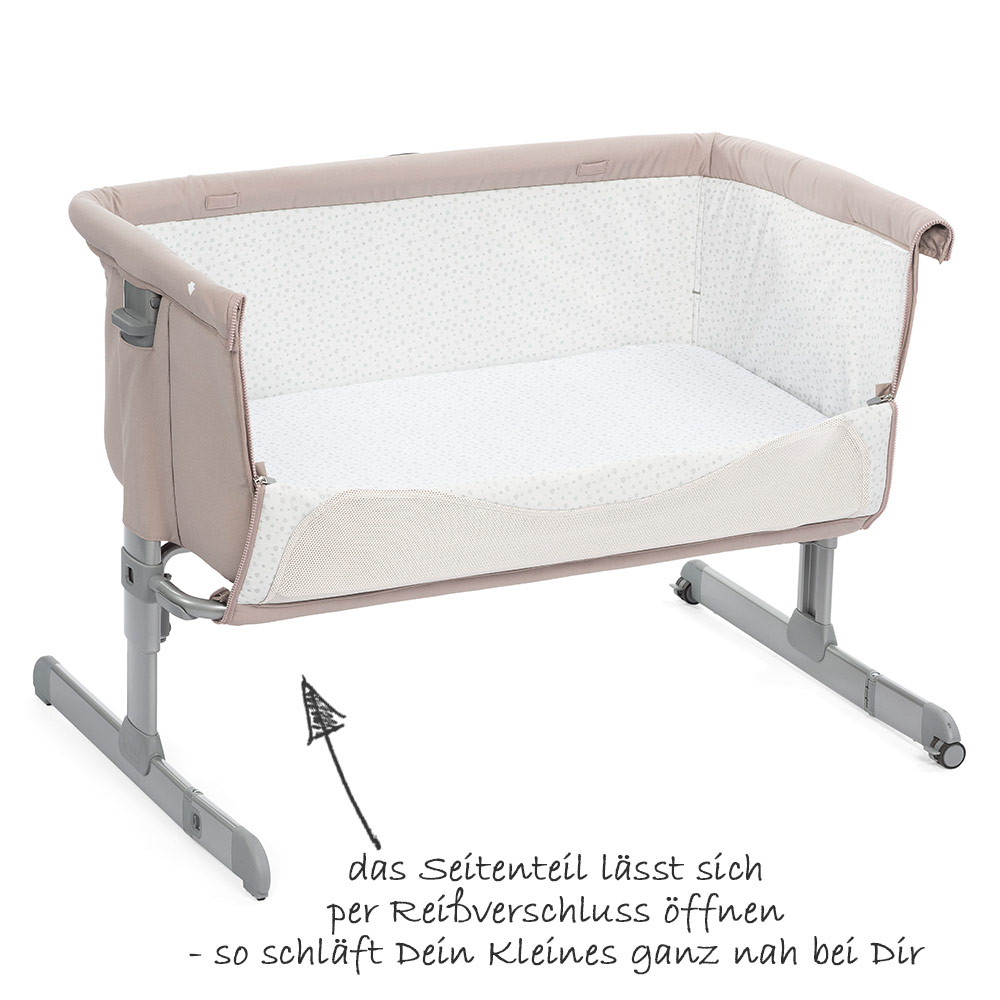 Anstellbett Baby Chicco Additional Bed Next 2 Me Chick To Chick Collection 2018
