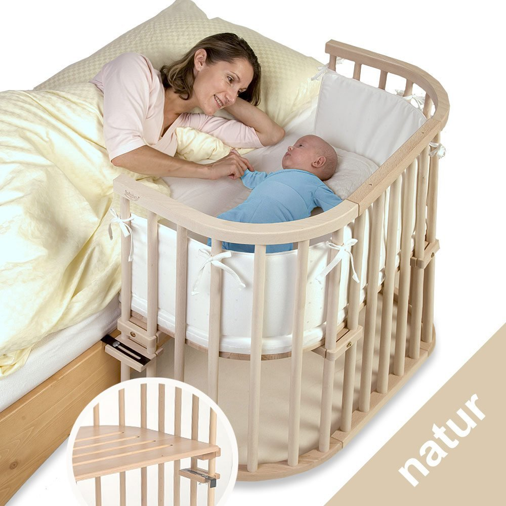 Anstellbett Baby Babybay Additional Bed Original Extra Ventilated Natur Untreated