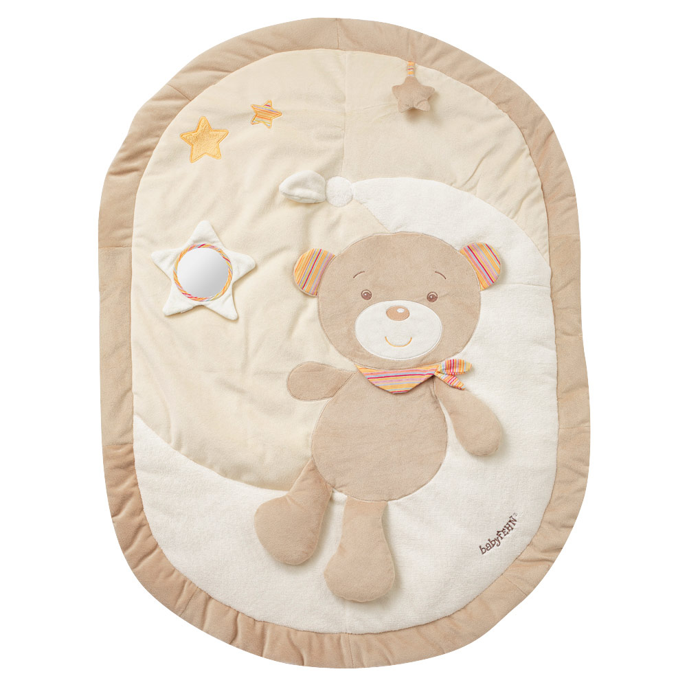 3d Activity Decke Baby Fehn 3d Activity Blanket Teddy Rainbow