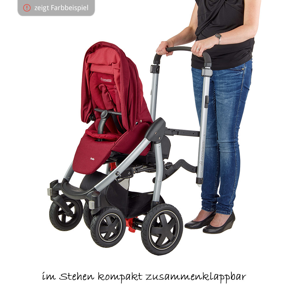 Maxi Cosi Stella Räder Maxi Cosi Sports Car Stella Nomad Grey Collection 2018
