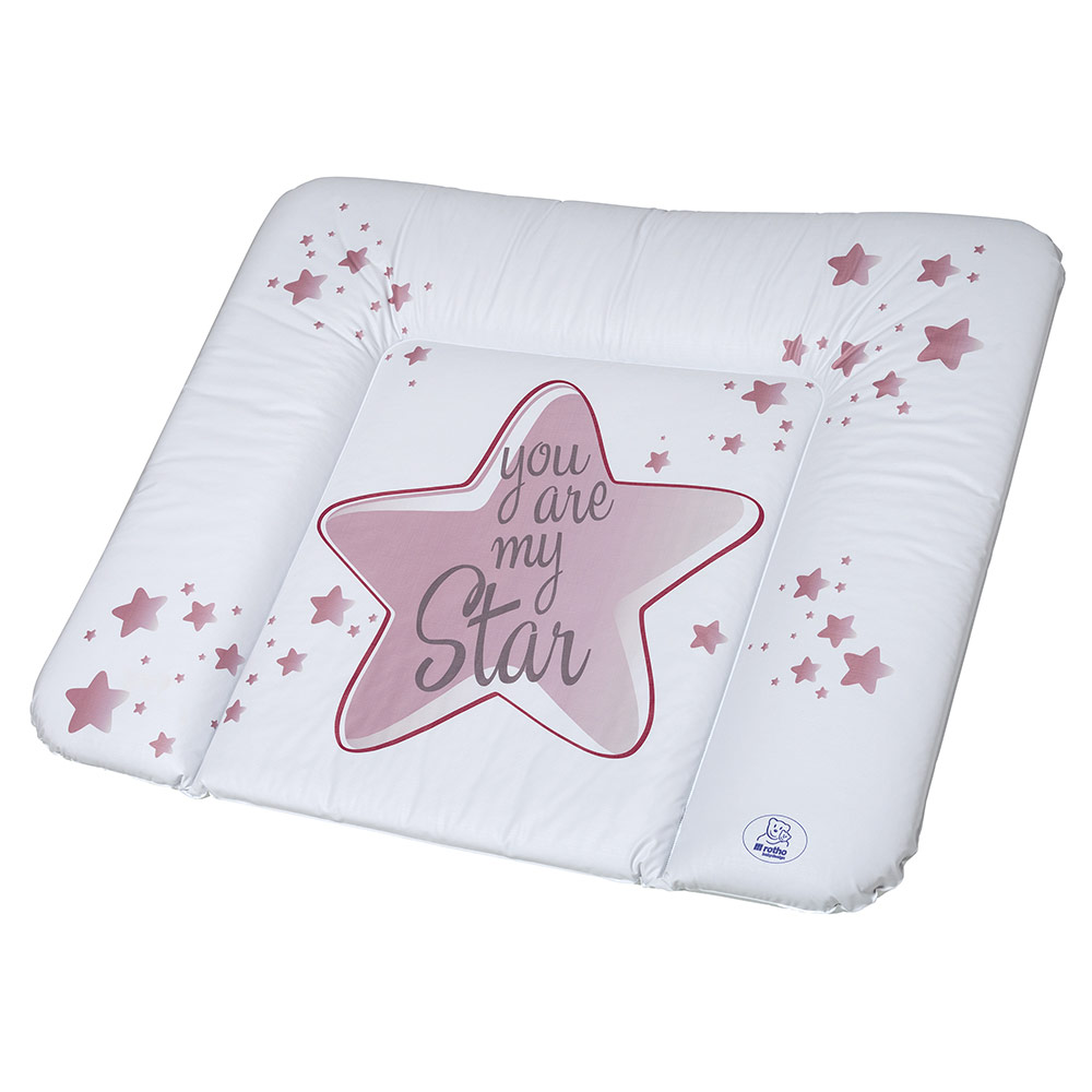 Wickel Auflage Rotho Babydesign Folien Wickelauflage You Are My Star Swedish Rose