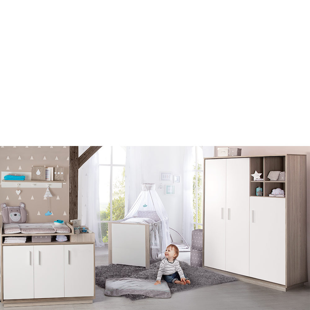 Schrankbett 90 X 190 Roba Olaf Children S Room With 3 Door Wardrobe Bed Changing Unit