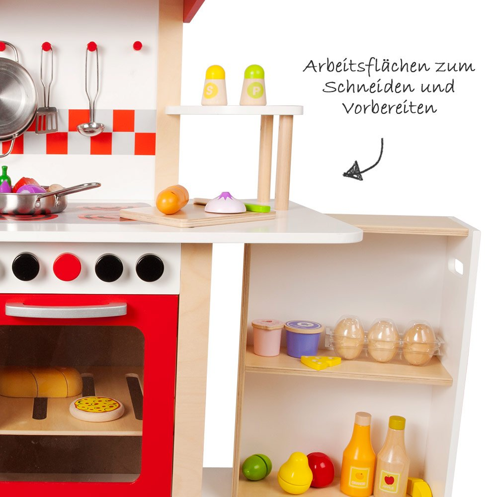 Aufbauanleitung Küche Julia Hape Wooden Play Kitchen Kitchen Dream Incl 4 Piece Accessories