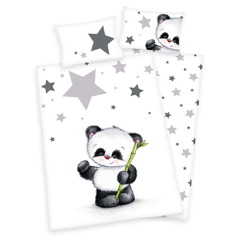 Bettwäsche Cars 100x135 Baby Best Reversible Bed Linen 100 X 135 Cm Small Panda